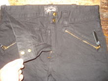 Black Denim CompetitionPants