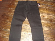 Black Denim Competition Pants