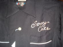 Stray Cats Bowling Shirt